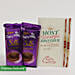 Cadbury Silk & Rakhi Combo For Bro