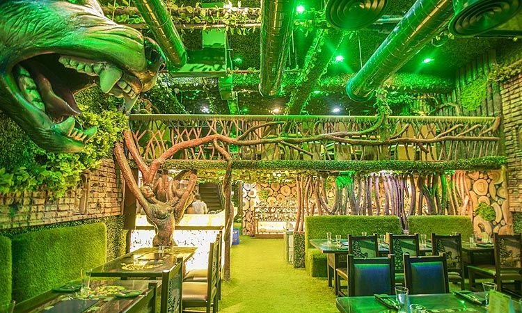Jungle Dinner Noida