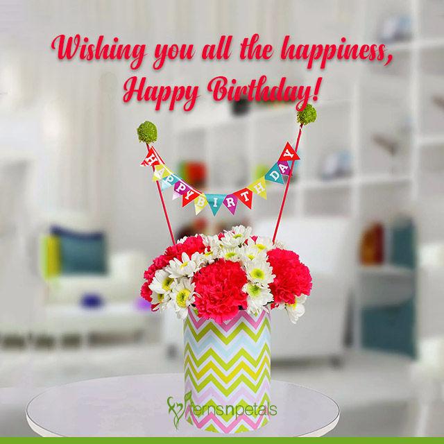 happy birthday healthy wishes
