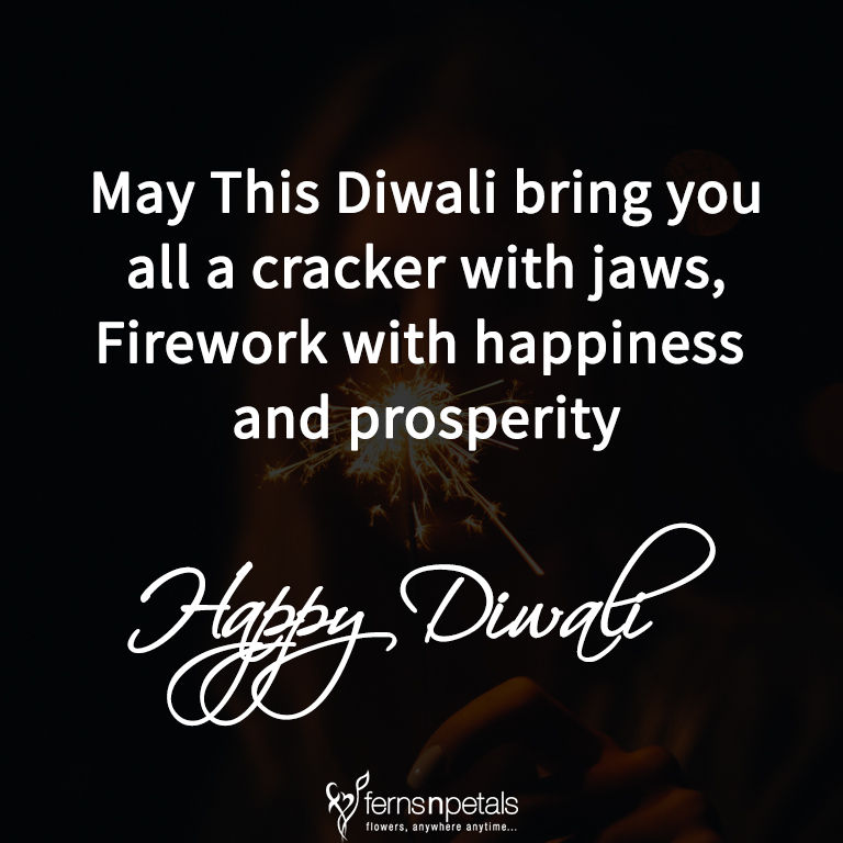 wishing for diwali