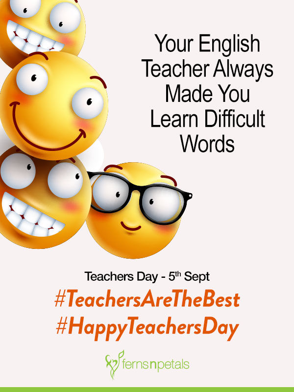 happy teachers day funny wishes