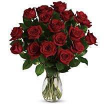 18 Red Roses Bouquet: Flower Delivery Brisbane Australia