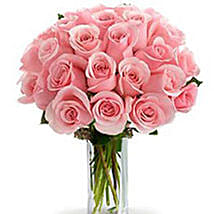 2 Dozen Pink Roses: Rose Day Gift Delivery in Australia