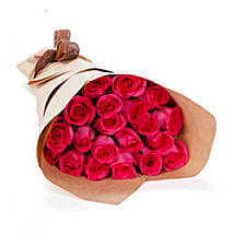 20 Pink Roses: Send Anniversary Roses to Australia