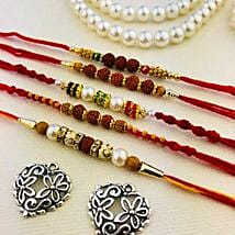 Best Five Rakhi Set: Rakhi to Perth