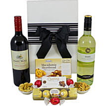 Charismatic French And Italian Wine Hamper: Corporate hampers to Australia