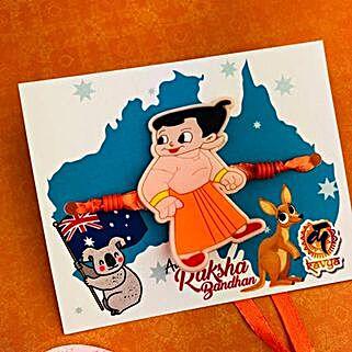 Chhota Bheem Kids Rakhi: Send Rakhi to Perth