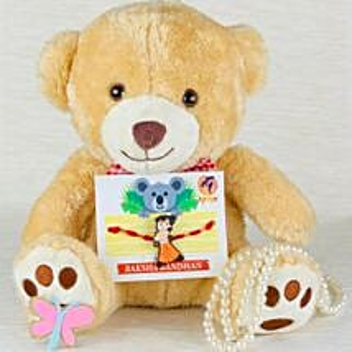Chota Bheem Rakhi with Teddy Bear: Rakhi for Kids Australia