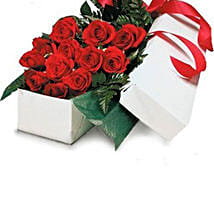 Classic Red Roses In Box: Love Gifts to Australia
