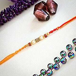 Diamond Pearl Rakhi: Rakhi Gifts for Brother in Australia