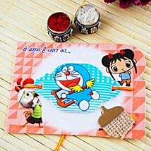 Doraemon kids Rakhi: Send Rakhi to Melbourne