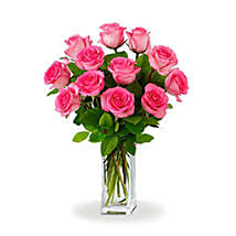 Dozen Pink Roses: I Am Sorry Flowers to Australia