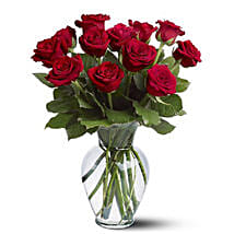 Dozen Red Roses: Send Anniversary Roses to Australia