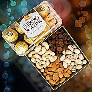 Ferrero Rocher With Mix Dry Fruits: Birthday Gifts to Australia