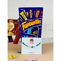 Love Bhaiya Rakhi with Cadbury Favourite: Rakhi to Melbourne
