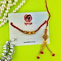 Pavitra Bhaiya Bhabhi Rakhi Set: Send Rakhi to Melbourne