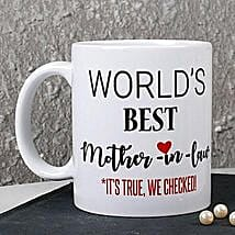 Personalized Best Mother In Law Mug: Women's Day Gifts to Australia