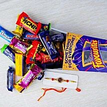 Rakhi with Cadbury Favourite: Send Rakhi to Melbourne