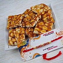 Rakhi With Peanut Chikki: Send Rakhi to Melbourne