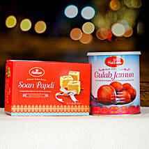Soan Papdi and Gulabjamun Tin: Send Birthday Gifts to Perth