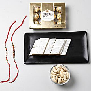 Luxurious Raksha Bandhan Celebration: Send Rakhi With Sweets To Bahrain