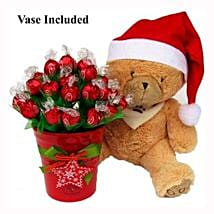 Christmas Teddy Wishes: Send Gifts to Belgium