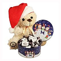 Christmas Treats with Teddy: Send Gifts to Belgium