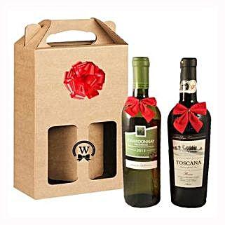 Classic Dual Italian Wines: Gifts to Belgium