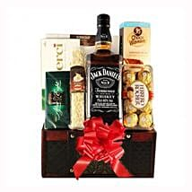 Jack Daniels Gift Basket: Corporate Gifts to Belgium