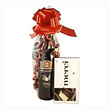 Red Wine and Chocolate: Gifts to Belgium