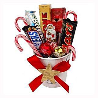 Sweet Christmas Bucket: Gifts to Belgium