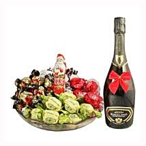 Sweet Me Up With Sparkling Wine: Gifts to Belgium