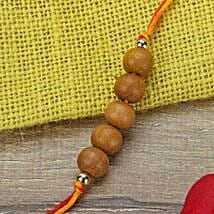 Simple Chandan Rakhi BRA: Send Rakhi to Brazil
