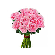 12 pink roses: Gifts to Canada for Wife