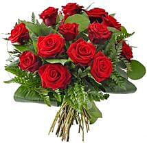 12 red roses: Birthday Gifts to Brampton