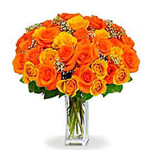 36 Orange roses Bouquet: Flower Delivery in Canada