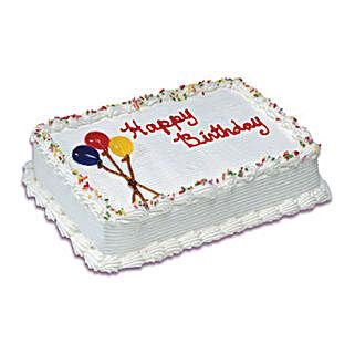 Birthday Special Vanilla Cake 1 Kg: Send Cakes to Canada