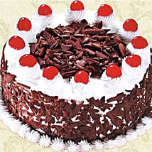 Black Forest Cake 500GM: Xmas Cake Delivery in Canada