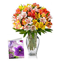 Bouquet of Alstroemeria: Valentine's Day Flower Delivery in Canada