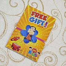 Chota Bheem Flower Rakhi With Free Gift: Send Rakhi to Calgary