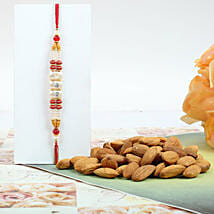 Colorful Rakhi With Almond: Canada Rakhi Delivery