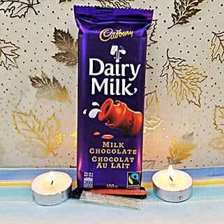 Dairy Milk N 2 Diyas: Diwali Gift Delivery Canada