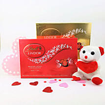 Delightful Lindt N Teddy Combo: Birthday Gifts to Canada