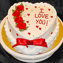 Eggless Valentine Heart Cake: Send Cakes to Canada