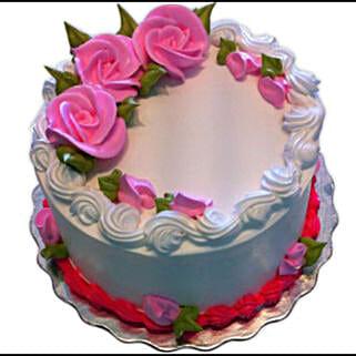 Eggless Vanilla Cake: Send Cakes to Canada