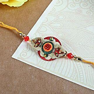 Elegant Embroidery Rakhi: Rakhi to Brampton