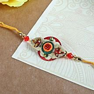 Elegant Embroidery Rakhi: Rakhi to Edmonton