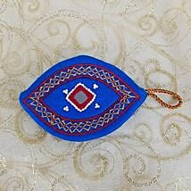 Embroidered Handy Purse: Designer Handbag to Canada