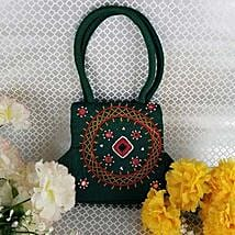 Ethnic Green Purse: Handbags to Canada