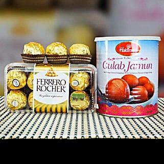 Ferrero Rocher With Gulab Jamun: Canada Gifts for Birthday